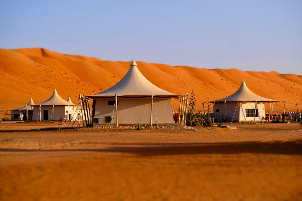 Desert Night Camp