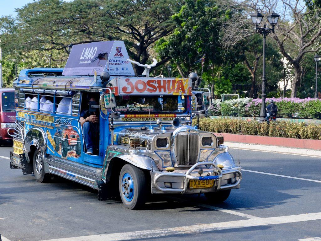 Jeepney in Manila